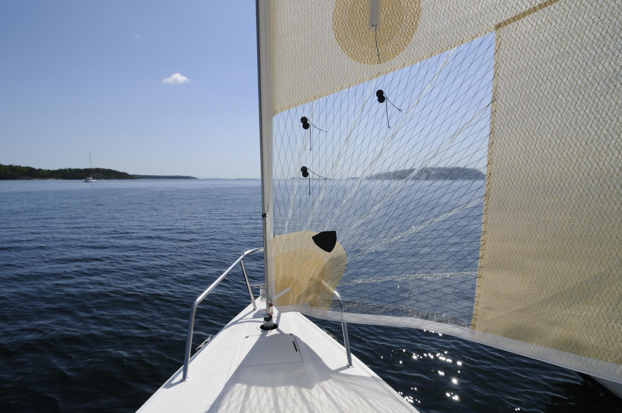 See-through sail