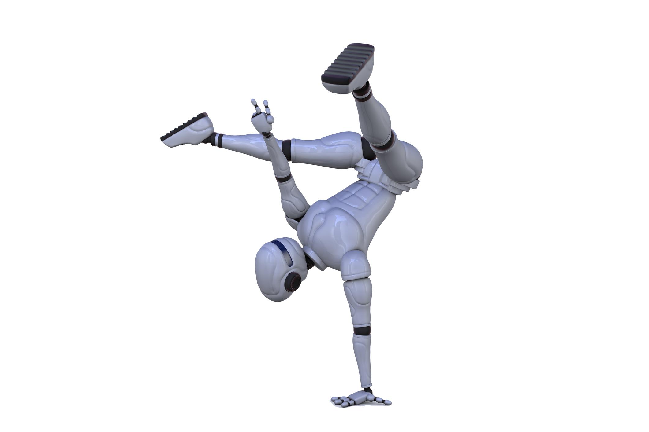 Robot is a dancer
