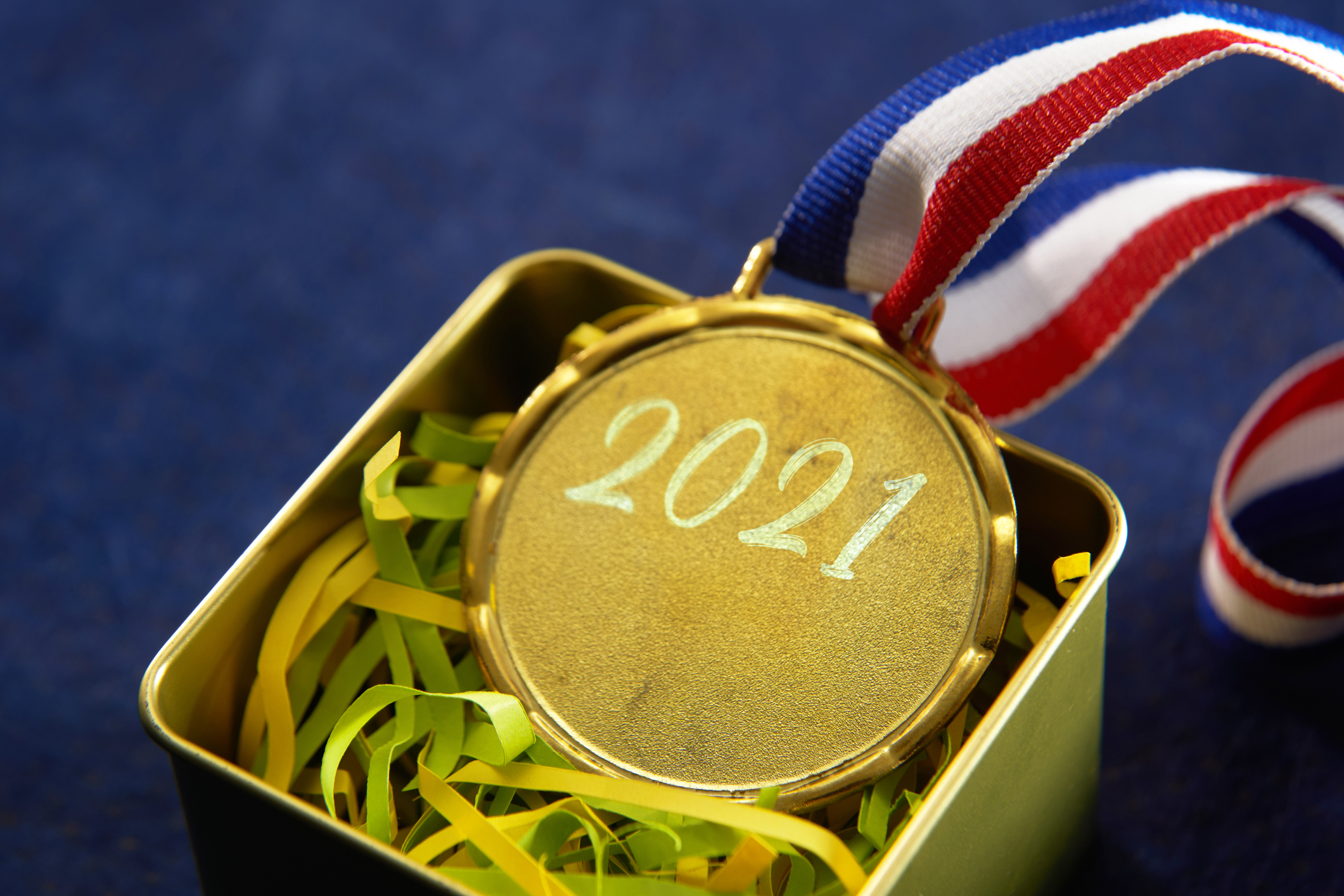Gold medal with